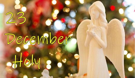 Advent Calendar – 23 December : Advent 4