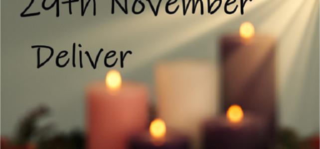 Advent Calendar – 29 November : Advent 1
