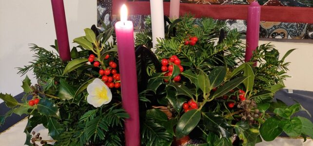 Advent 1 – 29th November 2020